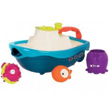 B.Toys - Łódka z zabawkami do kąpieli - BX1520