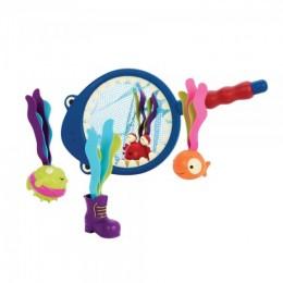 B.Toys Zestaw do łowienia w kąpieli - REKIN BX1521