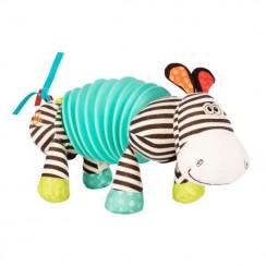 B.Toys BX1534 Zabawka muzyczna Zebra - akordeonik