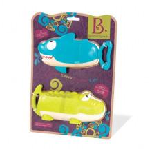 B.Toys - Zestaw dwóch sikawek - Krokodyl i Rekin - BX1551