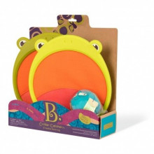 B.Toys - Gra zręcznościowa - Para łapek i piłka Żabka - BX1554
