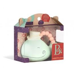B.Toys - Gryzak kauczukowy - Wieloryb - BX1558