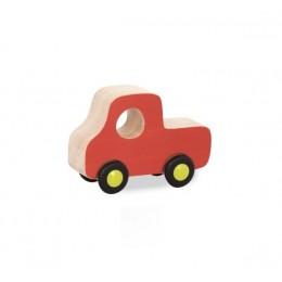 B.Toys - Drewniane autko pomarańczowe BX1583