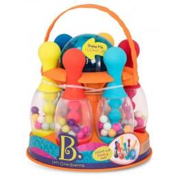 B.Toys – Zestaw do gry w kręgle – Let's Go Glowing BX1640