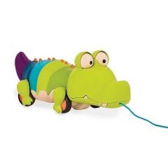 B.Toys - Krokodyl do ciągnięcia na sznurku - BX1674
