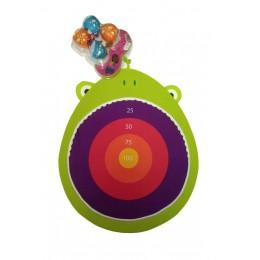 B.Toys - Tarcza z rzutkami na rzepy - Żaba BX1676