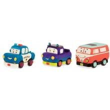 B. Toys - Autka Wheeee-is - Trzypak z pick-up'em BX1695