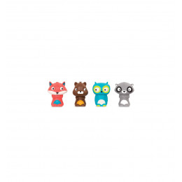 B. Toys – Zestaw 4 pacynek Załoga z lasu - BX1741