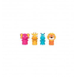 B. Toys – Zestaw 4 pacynek Załoga z ZOO - BX1740