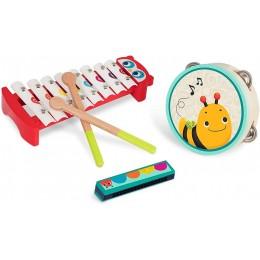 B.Toys – Zestaw drewnianych instrumentów BX1876