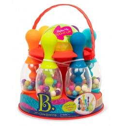 B.Toys – Let's Go Glowing - Kręgle – czerwone BX1955