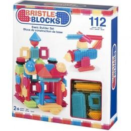 B.TOYS BX3091 Elastyczne klocki Jeżyki Bristle Blocks 112 elementów
