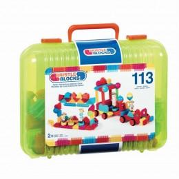 B.Toys - Klocki Jeżyki Bristle Blocks - Przygoda Safari 113 el. - BX3101