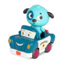 B.Toys - Miękkie autko sensoryczne z pieskiem Woofer – światło + dźwięk – LB1701