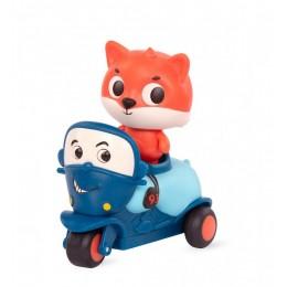 B. Toys – Miękki motocykl sensoryczny Mike z liskiem Dash – światło + dźwięk – LB1705