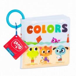 B.Toys – Wodoodporna miękka książeczka do kąpieli – kolory – język angielski – LB1837