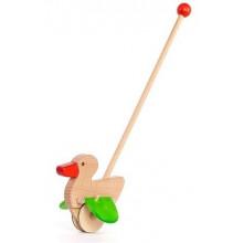 BAJO – Drewniany pchacz – Kaczka na patyku 21910