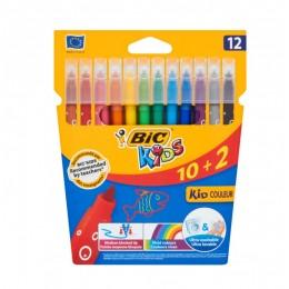 Bic Kids – Flamastry zmywalne 12 kolorów – 03226