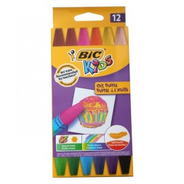 BIC – Pastele olejne Kids – 12 kolorów – 0349