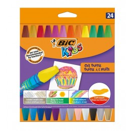 BIC – Pastele olejne Kids – 24 kolory – 0356