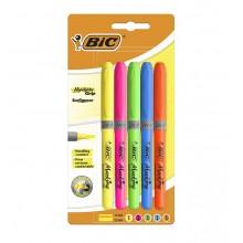 BIC – Zakreślacz neonowy 5 kolorów – 0688