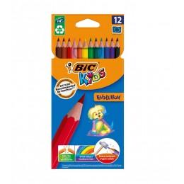 BIC – Kredki ołówkowe Kids Evolution – 12 kolorów – 0963
