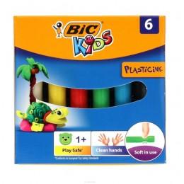 BIC – Plastelina Kids – 6 kolorów – 5488