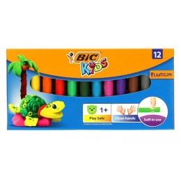 BIC – Plastelina Kids – 12 kolorów – 5495