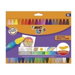 BIC – Pastele olejne Kids – 36 kolorów – 8511