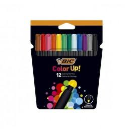 BIC – Pisaki flamastry Color Up! – 12 kolorów – 9300