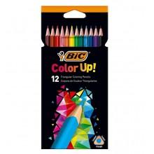 BIC – Trójkątne kredki ołówkowe Color Up! – 12 kolorów – 99157