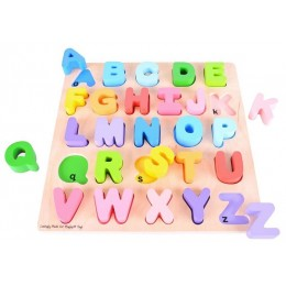 BigJigs BB055 Drewniane Puzzle ABC