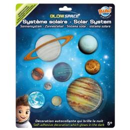 BUKI – Układ słoneczny świecący w ciemności 3DF10