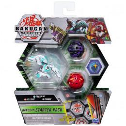 Bakugan Armored Alliance – Zestaw startowy: Trox, Nillious, Pharol – 2477