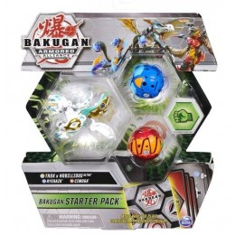 Bakugan Armored Alliance – Starter Pack: Trox, Ryerazu i Cimoga 5407