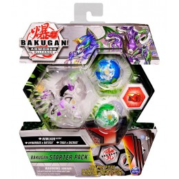 Bakugan Armored Alliance – Starter Pack: Howlkor, Hydorous, Trox 5411