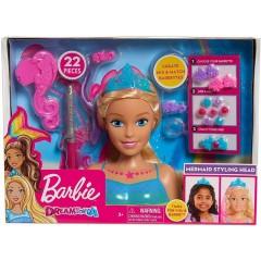 Barbie – Dreamtopia – Głowa do stylizacji z akcesoriami 62627