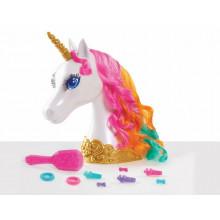 Barbie Dreamtopia – Głowa do stylizacji – Jednorożec – 62861