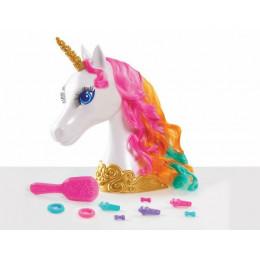 Barbie Dreamtopia – Głowa do stylizacji – Jednorożec – 62860