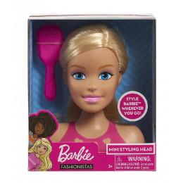 Barbie Fashionistas - Mała głowa do czesania i stylizacji - 63415