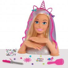 Barbie – Duża głowa do stylizacji – 63575