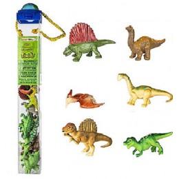SAFARI LTD 695404 Zwierzęta w tubie - Dinozaury
