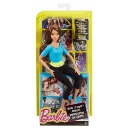 Barbie MADE TO MOVE DJY08 Ruchoma Lalka