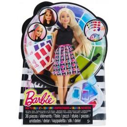 Barbie DHL90 Lalka Mix Kolorów - Farbujemy Włosy
