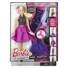 Barbie DJW589 Modowe Przebieranki - Lalka Blondynka