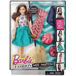 Barbie DJW59 Modowe Przebieranki - Lalka Szatynka
