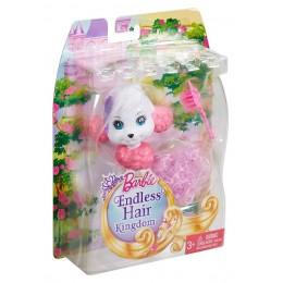 Barbie Długowłose Zwierzaki DKB52 Pudel