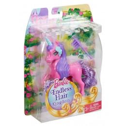 Barbie Długowłose Zwierzaki DKB53 Pegaz