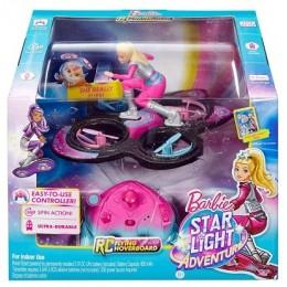 Barbie - Gwiezdna Przygoda DLV45 Latająca Lalka - Sterowany Dron