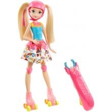 Lalka Barbie na rolkach DTW17